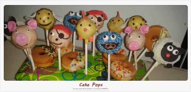 Cake Pops......personajes