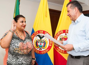 NADIA ABDEL ES AHORA CIUDADANA COLOMBIANA