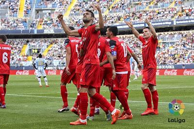 Crónica Málaga CF 2 Vs Sevilla FC 3