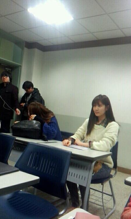 [CAP] Seohyun junto a fans Seohyun