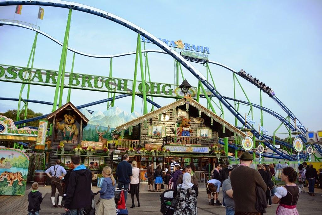 Oktoberfest Carnival 2014 rollercoaster