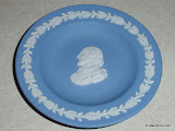 Blue Wedgwood Jasperware Plate