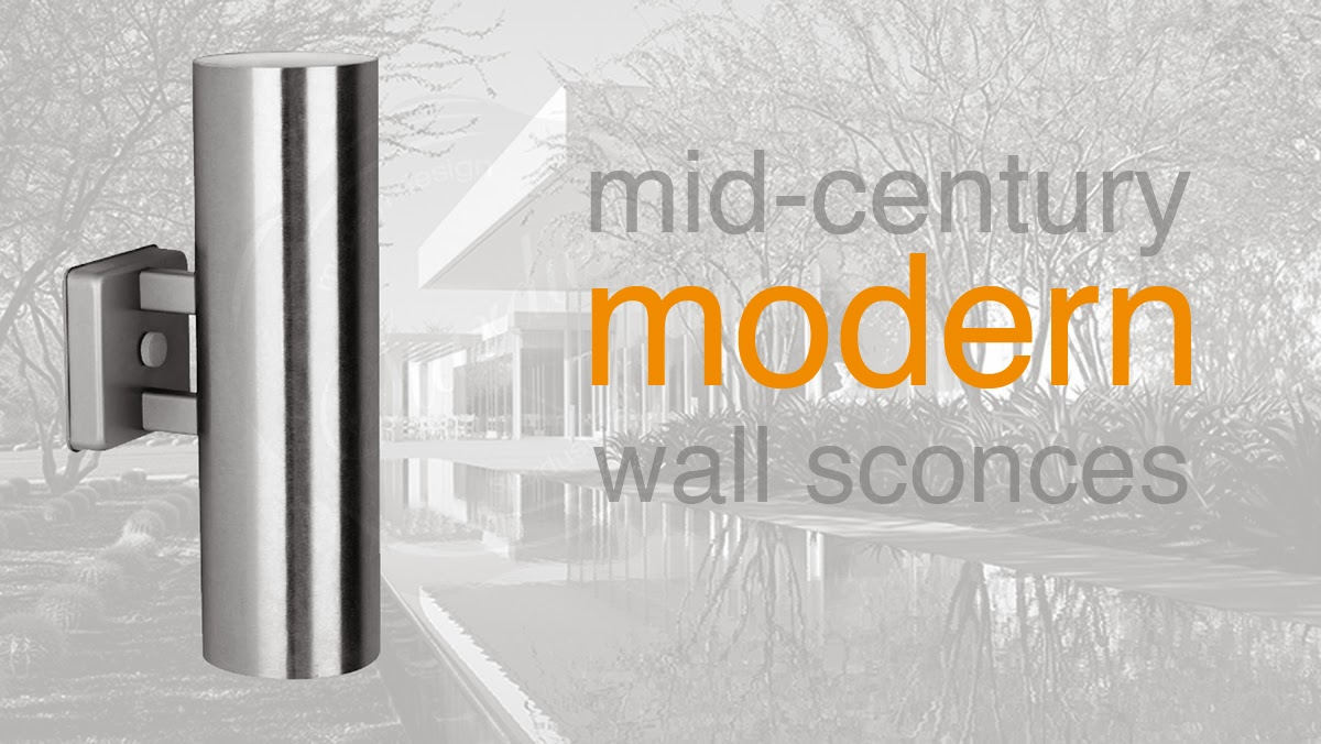 Mid Century Modern Outdoor Wall Lights : modern interior design: Outdoor Modern Wall Light