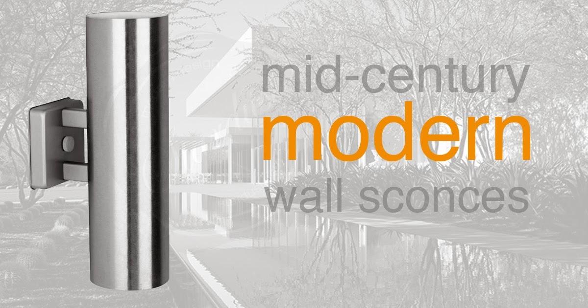 modern interior design: Outdoor Modern Wall Light