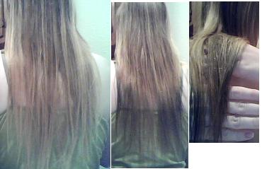 blue kool aid hair dye on dark hair dark brown hairs