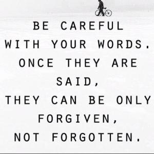No More Bullying: Words Hurt