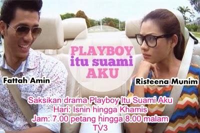 Fattah Amin jawab komen negatif lakonan 'kayu', drama playboy itu suami aku, pelakon playboy itu suami aku