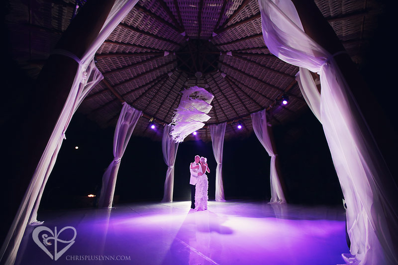 First Dance at Capella Pedregal | Mexico Destination Wedding by CHRIS+LYNN