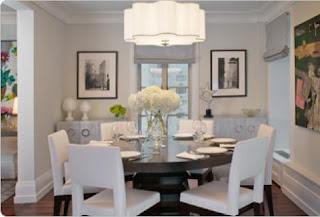 imagens de salas de jantar decoradas
