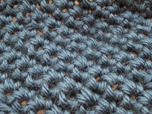 La maglia bassa all'uncinetto
