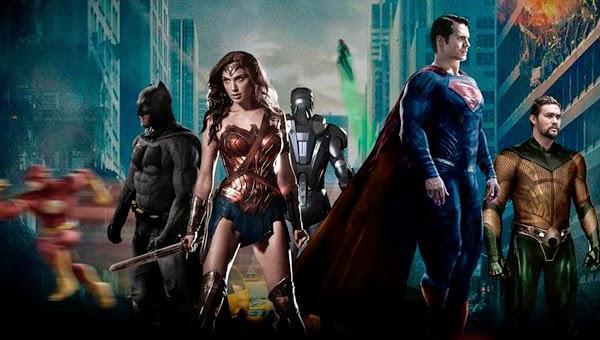Poster Fan Made de la Liga de la Justicia