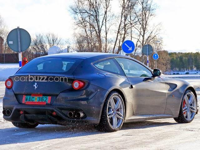 Design Ferrari FF Untuk 2016
