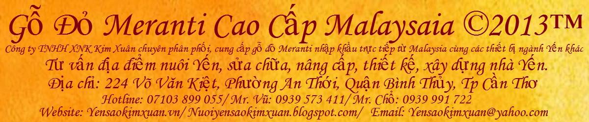 Gỗ Đỏ Meranti Cao Cấp Malaysaia ©2013™
