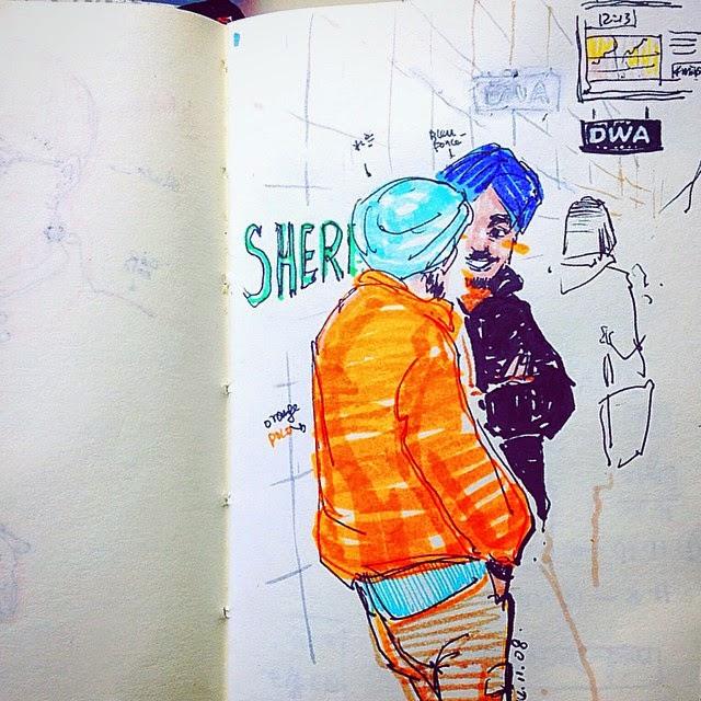 At Sherborne Station - Toronto - Ben Liu