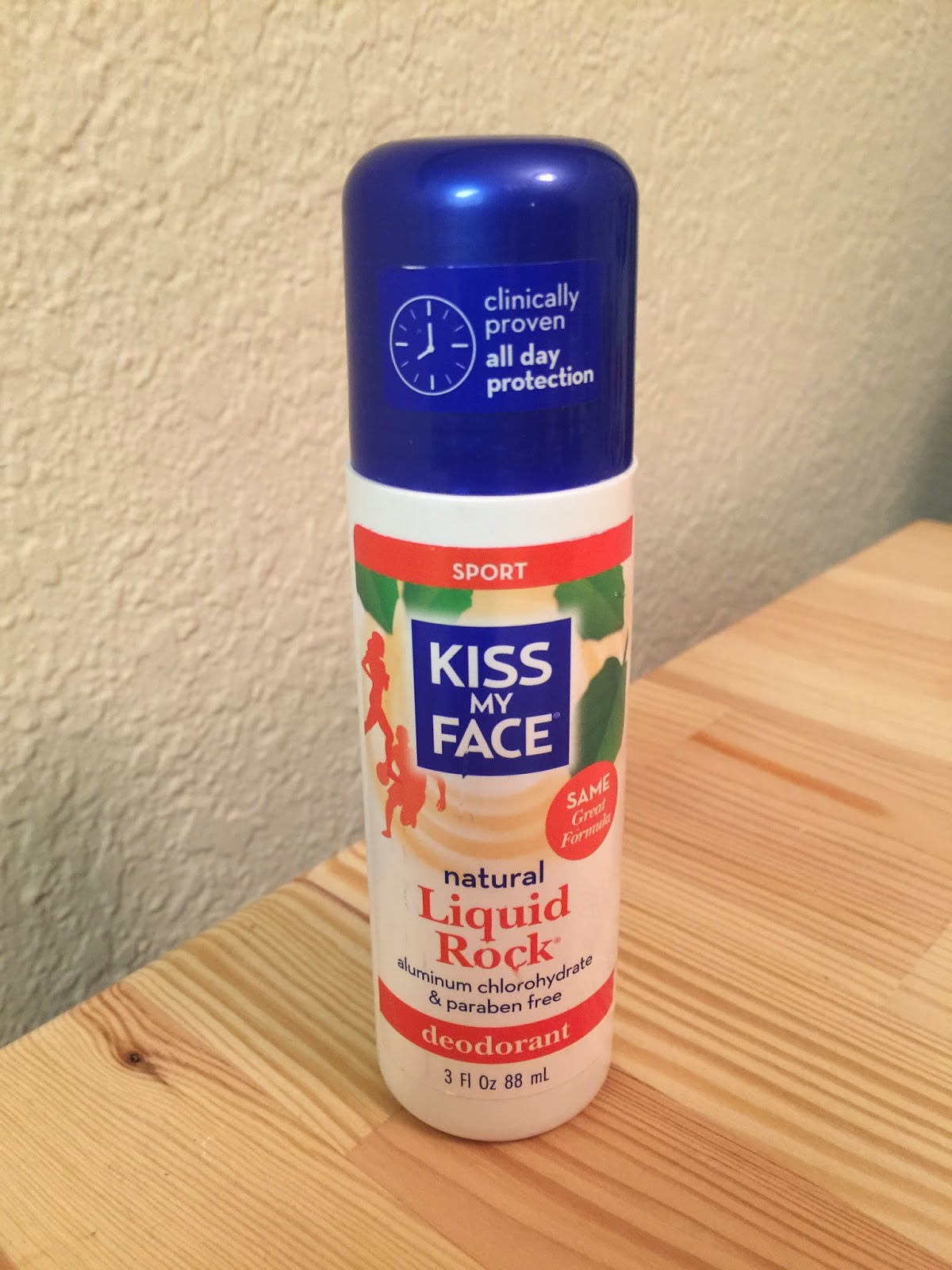 Product Review: Kiss My Face Liquid Rock Deodorant