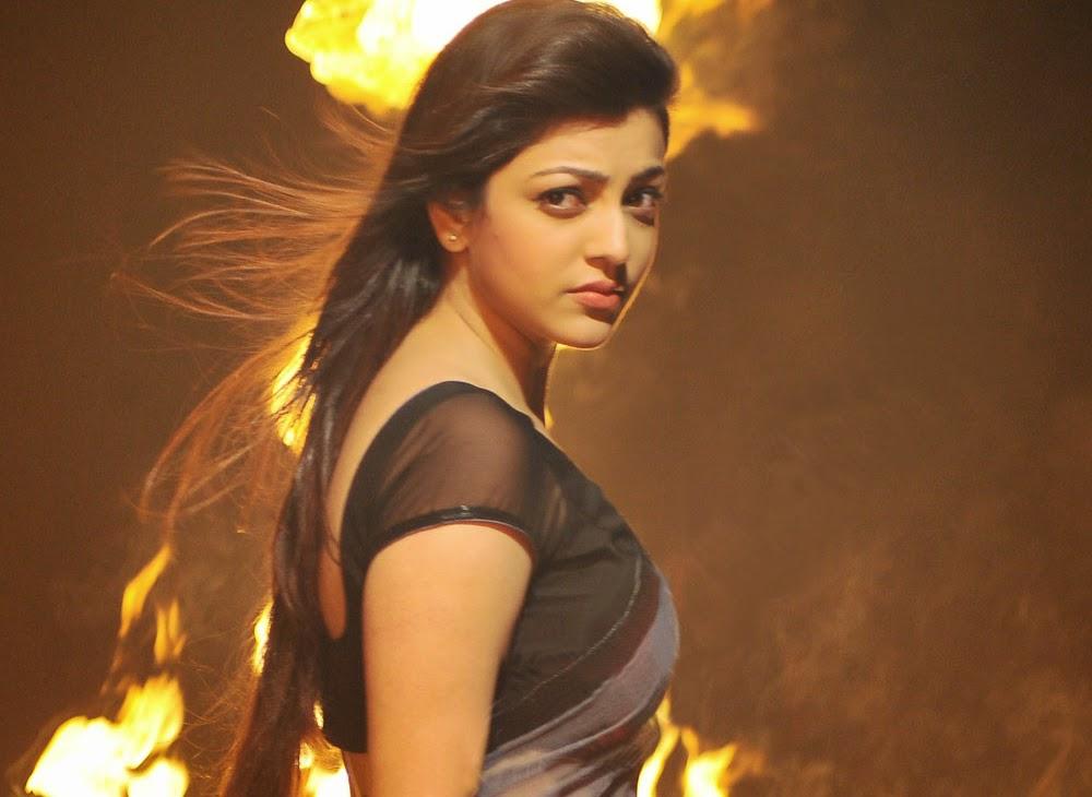 kajal hot stills in yevadu movie telugu clue   latest movie news