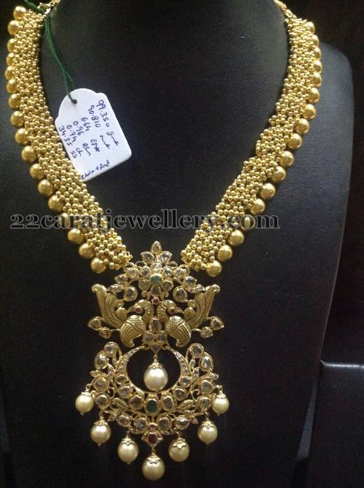 90 Grams Gold Swirls Long Set