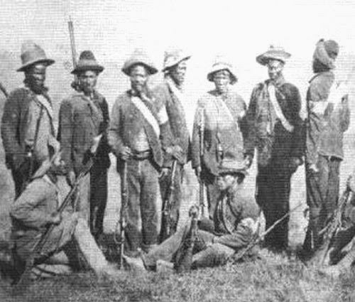 Mafunzi's Mounted Natives