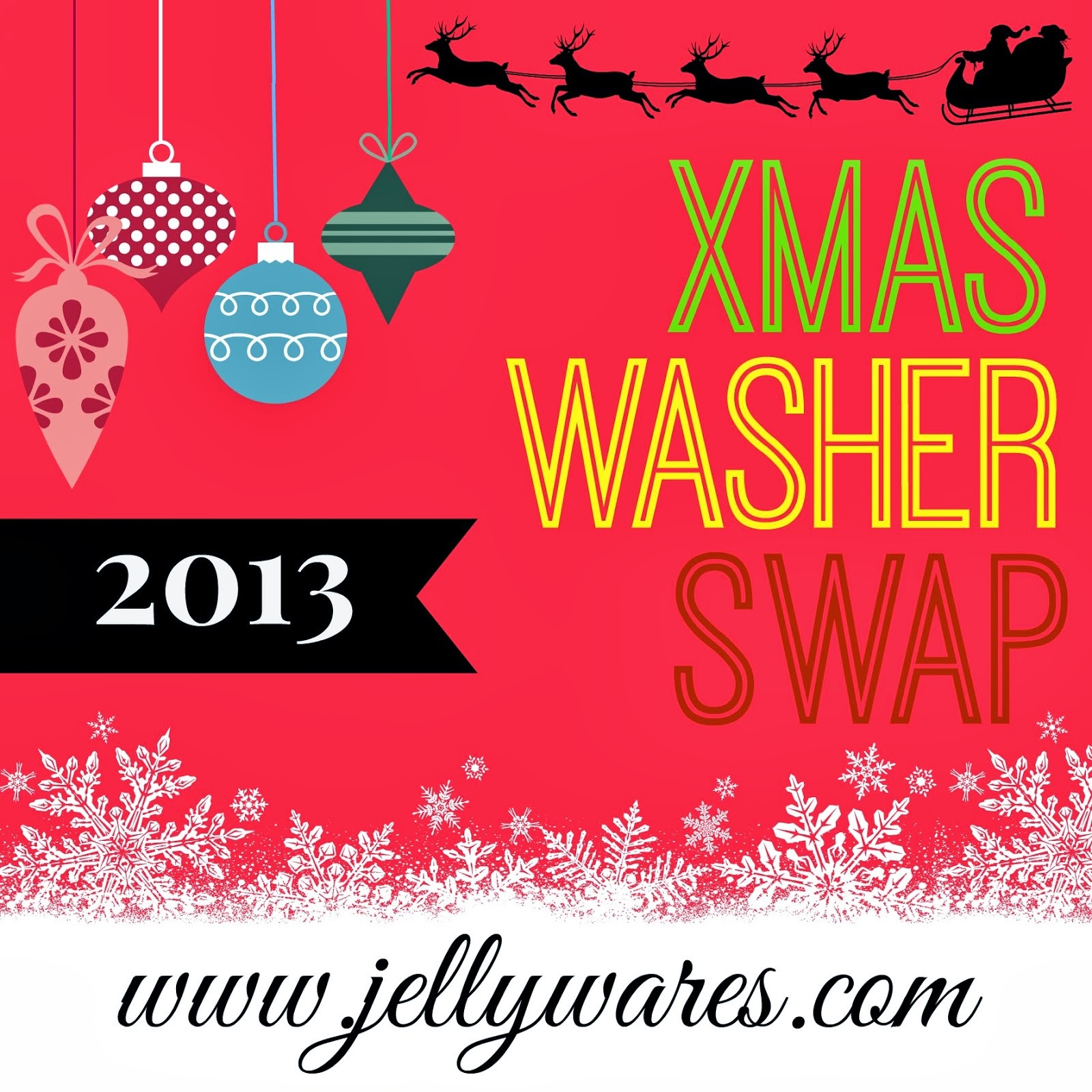 2013 xmas washer swap
