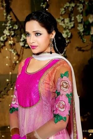 Frock Designs Pink Anarkali Pishwas