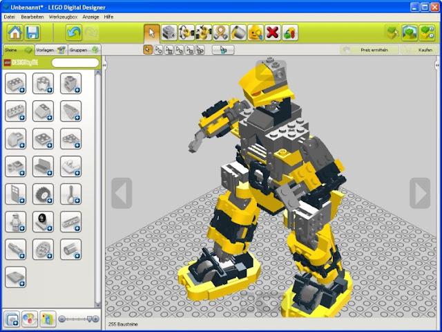 Lego Digital Designer Software Untuk Membuat Lego Buat lego dengan mudah