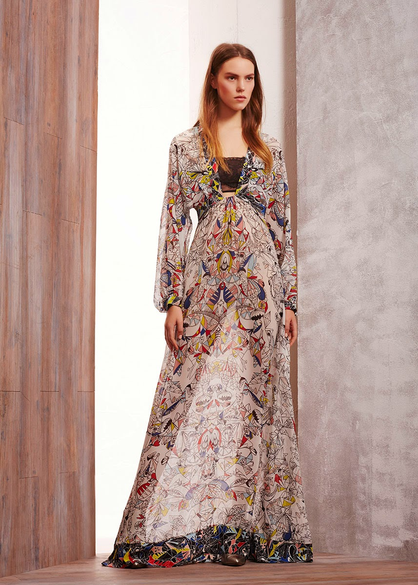 Modest dresses by BCBG Max Azria pre-fall 2015 collection | Mode-sty #nolayering tznius tzniut jewish orthodox muslim islamic pentecostal mormon lds evangelical christian apostolic mission clothes Jerusalem trip hijab fashion modest muslimah hijabista