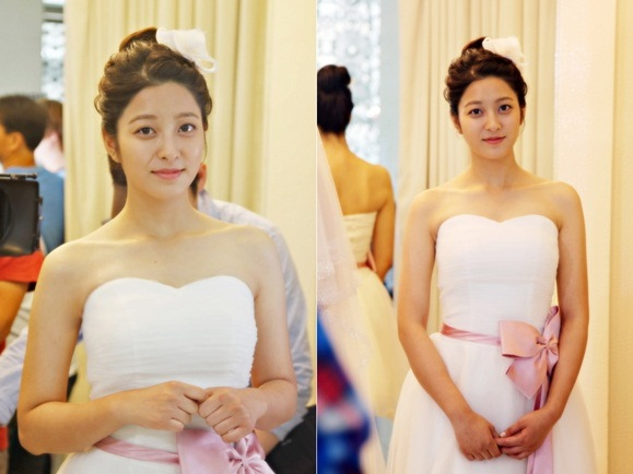 Park Se Young shows stunning beauty in a wedding dress
