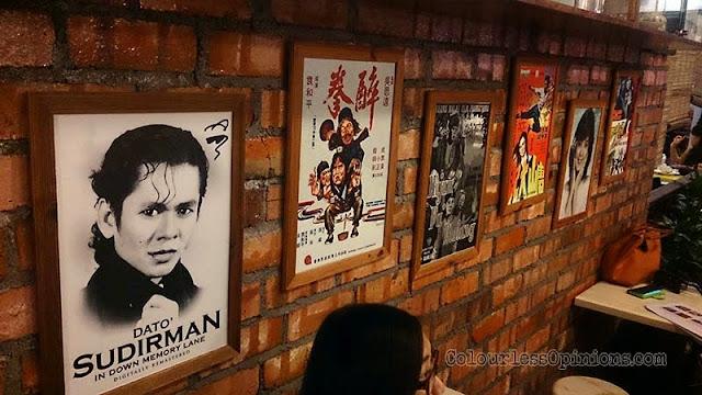 Kluang Food Street wall classics
