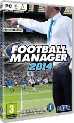 Football Manager 2014 DVD box