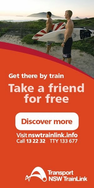 NSW TrainLink Promo
