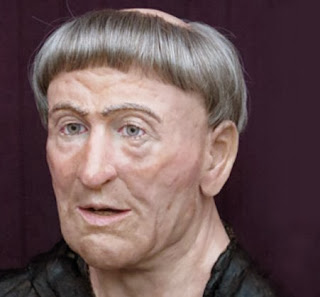 Forensic artists recreate face of 14th century monk