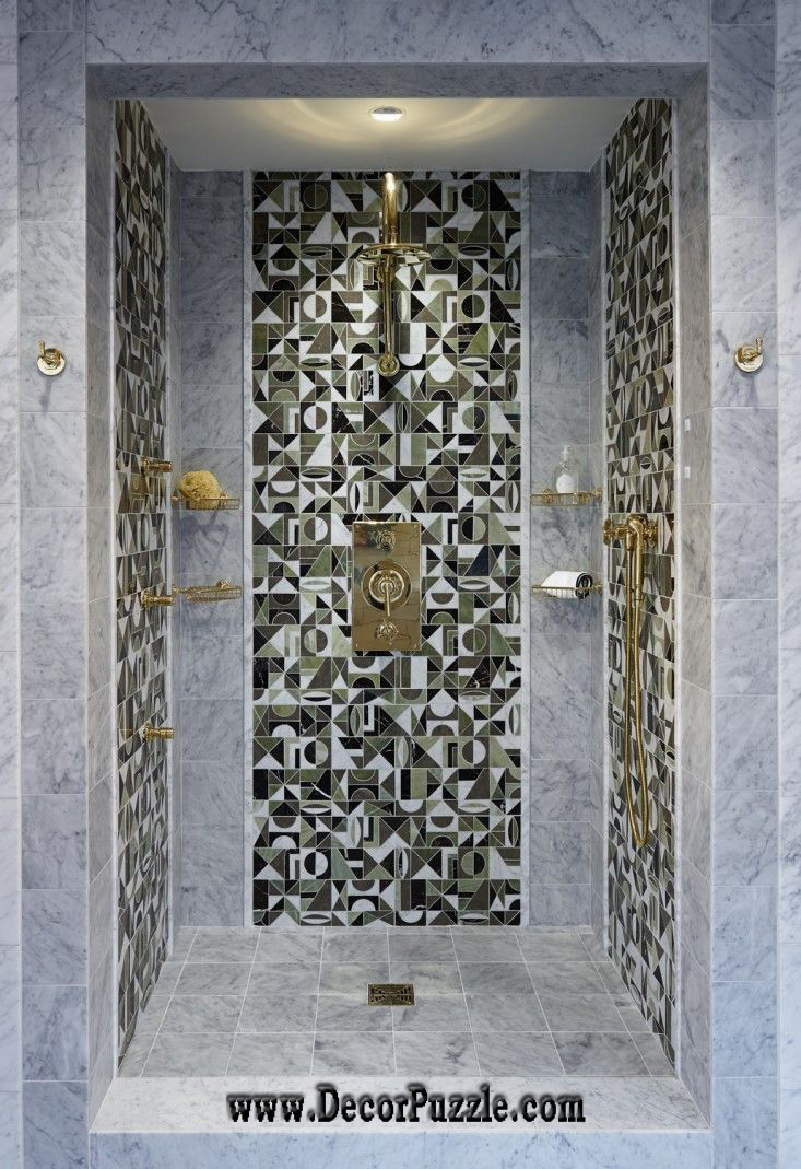 top shower tile ideas and designs to tiling a shower eclectic tile designs