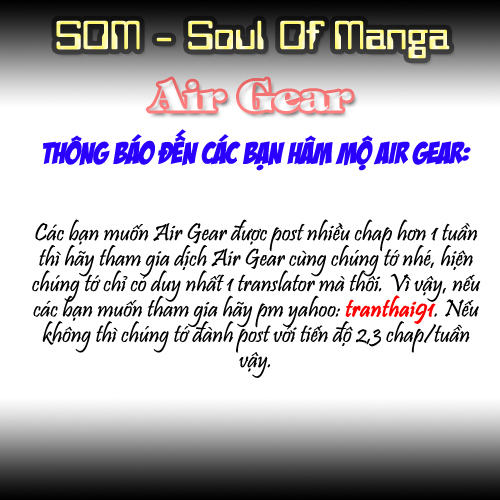 Air gear Chap 175