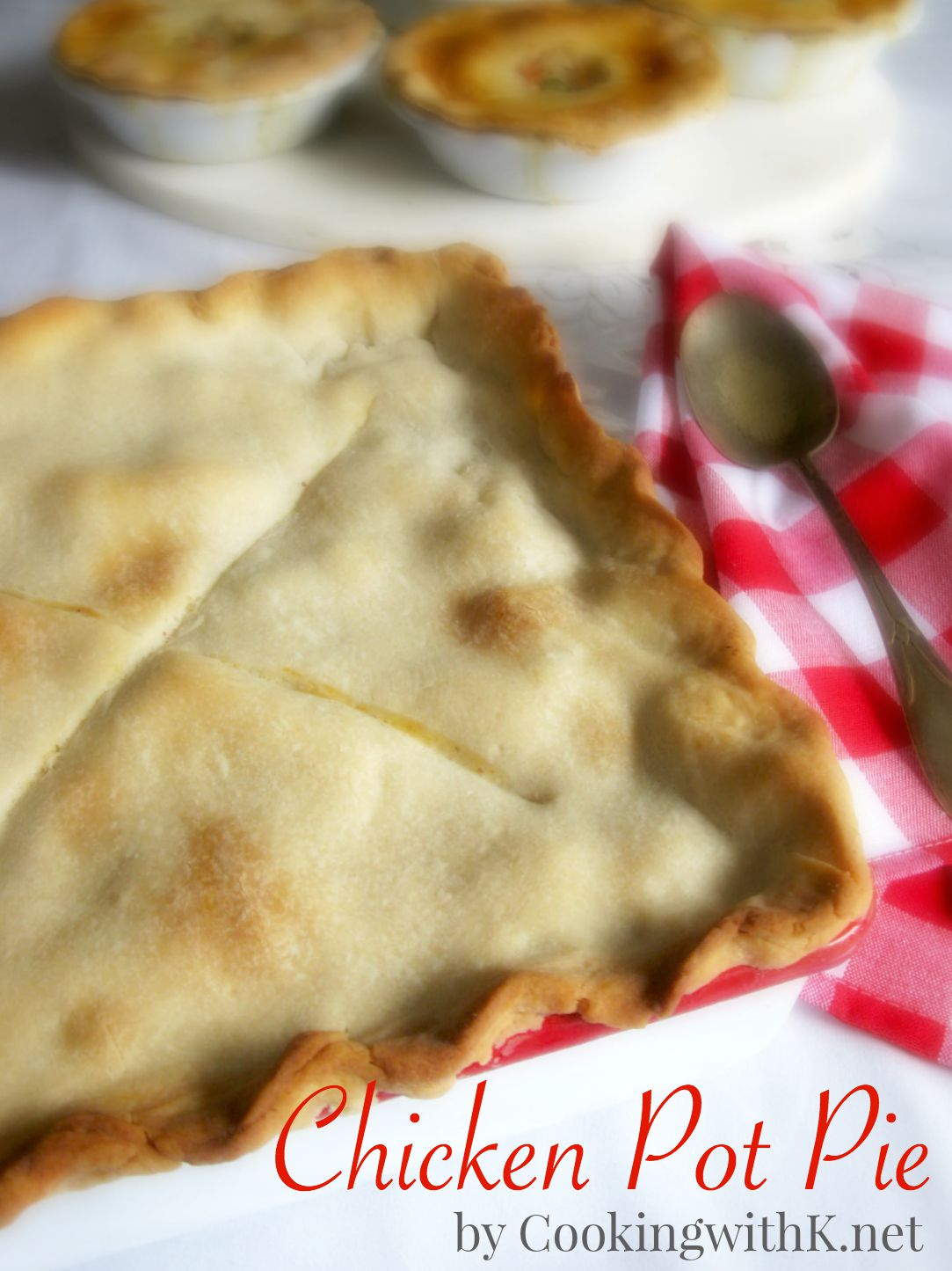 Cooking with K: Old Fashioned Chicken Pot Pie