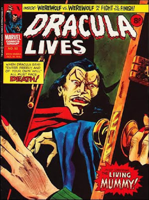 Marvel UK, Dracula Lives #52