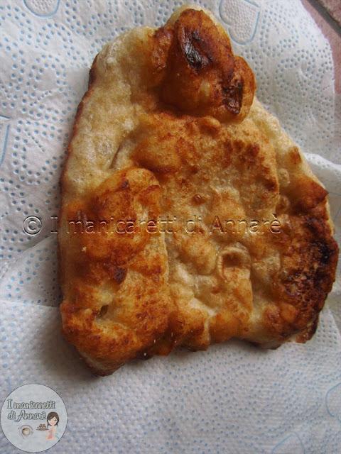 pizza fritta napoletana con lievito madre