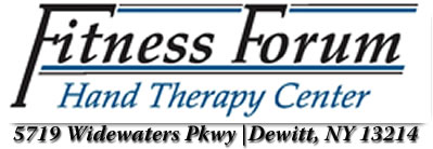 Fitness Forum Hand Therapy | 5719 Widewaters Parkway | Dewitt, NY 13214