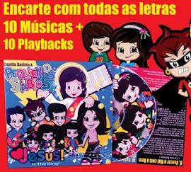 CD PEQUENOS SÁBIOS para escutar.