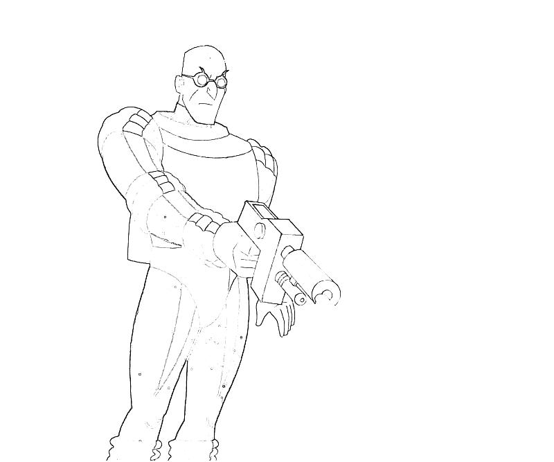 Batman Arkham City Mr Freeze Weapon