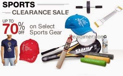 Sports, Fitness & Outdoor Products @ upto 50% off