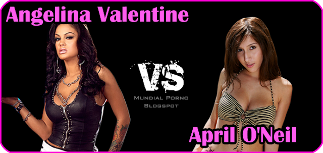 Angelina Valentine vs April ONeil
