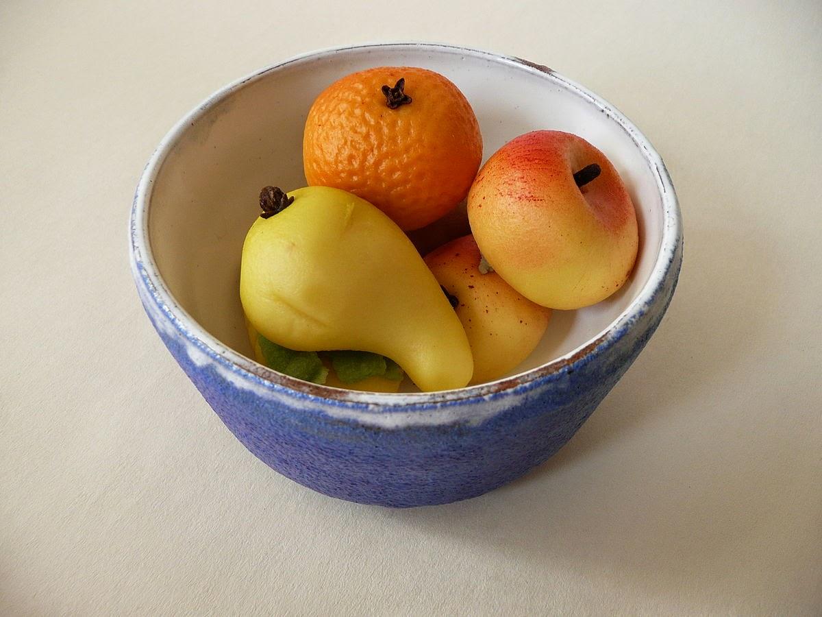 marzipan shaped fruit