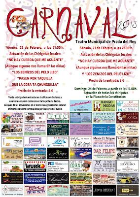 Carnaval 2013 Prado del Rey (Cádiz) Actuaciones de las Chirigotas