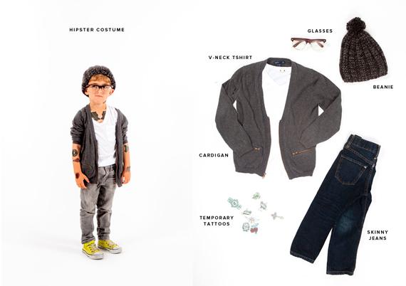 disfraces halloween: pequeño hipster