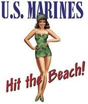 MARINES HIT BEACH
