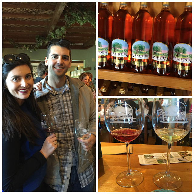 Wine Tasting in Nashoba Valley