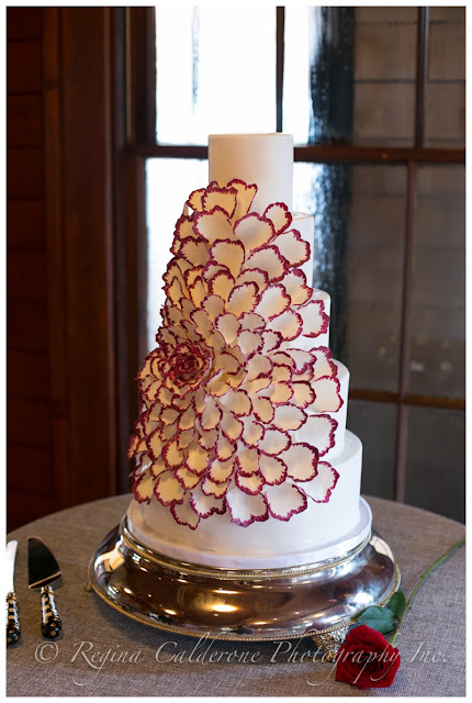 scrumptions wedding cake
