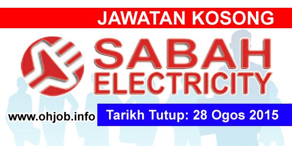 Jawatan Kerja Kosong Sabah Electricity Sdn Bhd logo www.ohjob.info ogos 2015