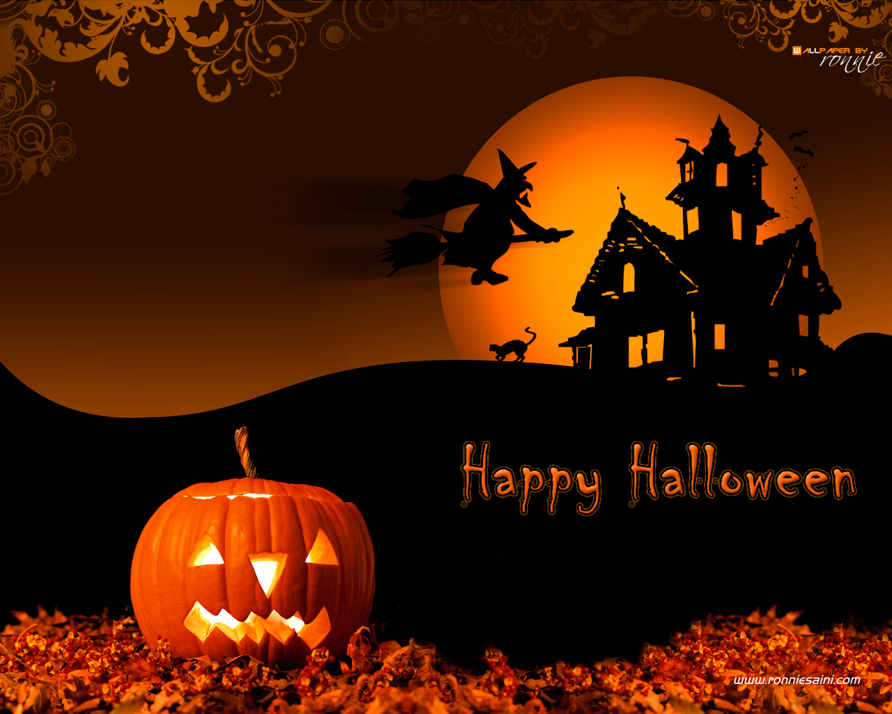 happy halloween wallpapers - photo #8