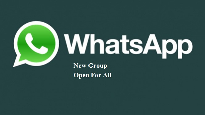whatsapp new group